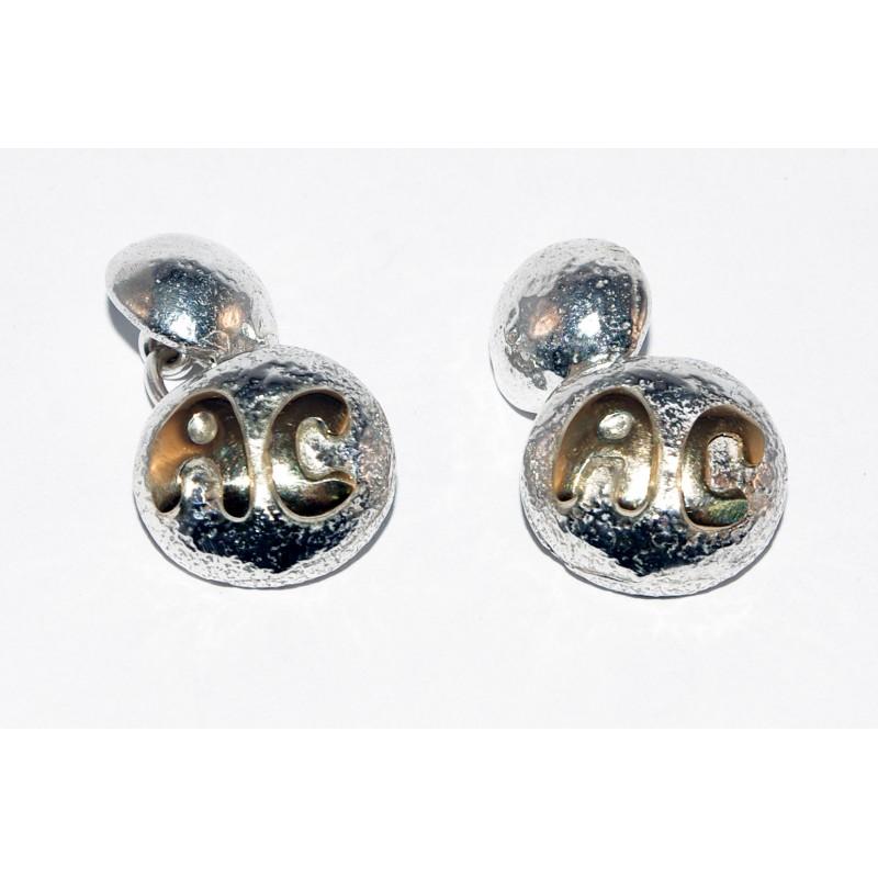 gemelos-plata-inicial-oro
