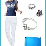 Look Bandana: Blue & White