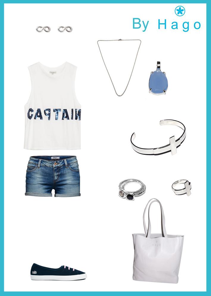 Short & Blue