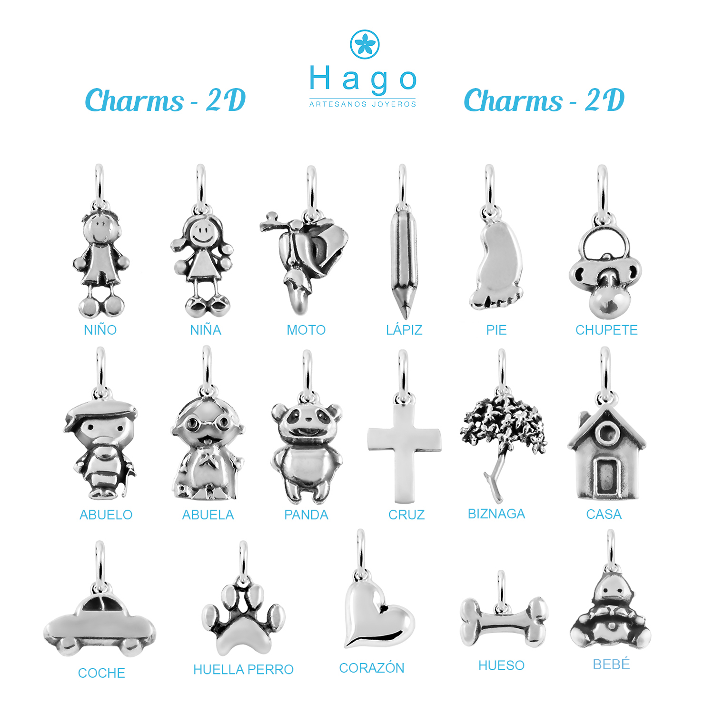 Charms 2d plata