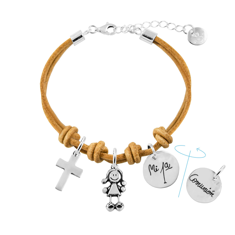 pulsera-cuero-comunión-REF-00003102