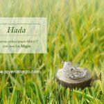 Hada. Joyas de plata con magia