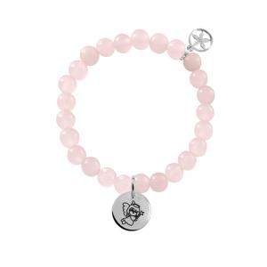 pulsera-bolitas-cuarzo-rosa-con-slim-12mm-lisa-plata