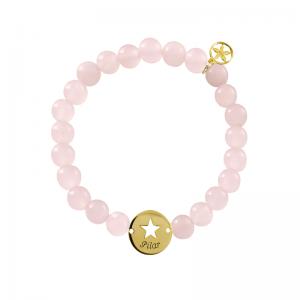 pulsera-de-bolitas-cuarzo-rosa-con-medalla-personalizada-chapado-oro-estrella