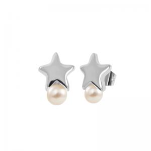 pendientes-estrella-perla-electroforming-plata