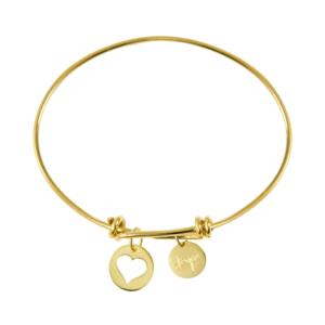 Pulsera-nudos-de-oro-personalizada