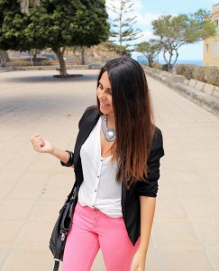 style pink pants