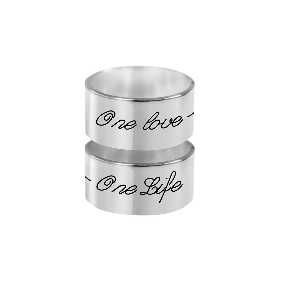 Anillo One Life-One Love